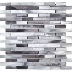 Mosaïque alu - White / Grey...