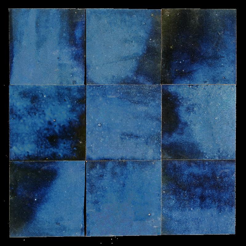 zellige bleu magique